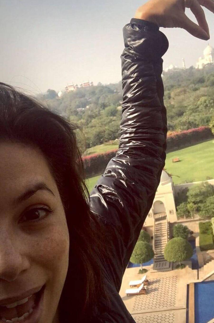 Eva Longoria en vacances.