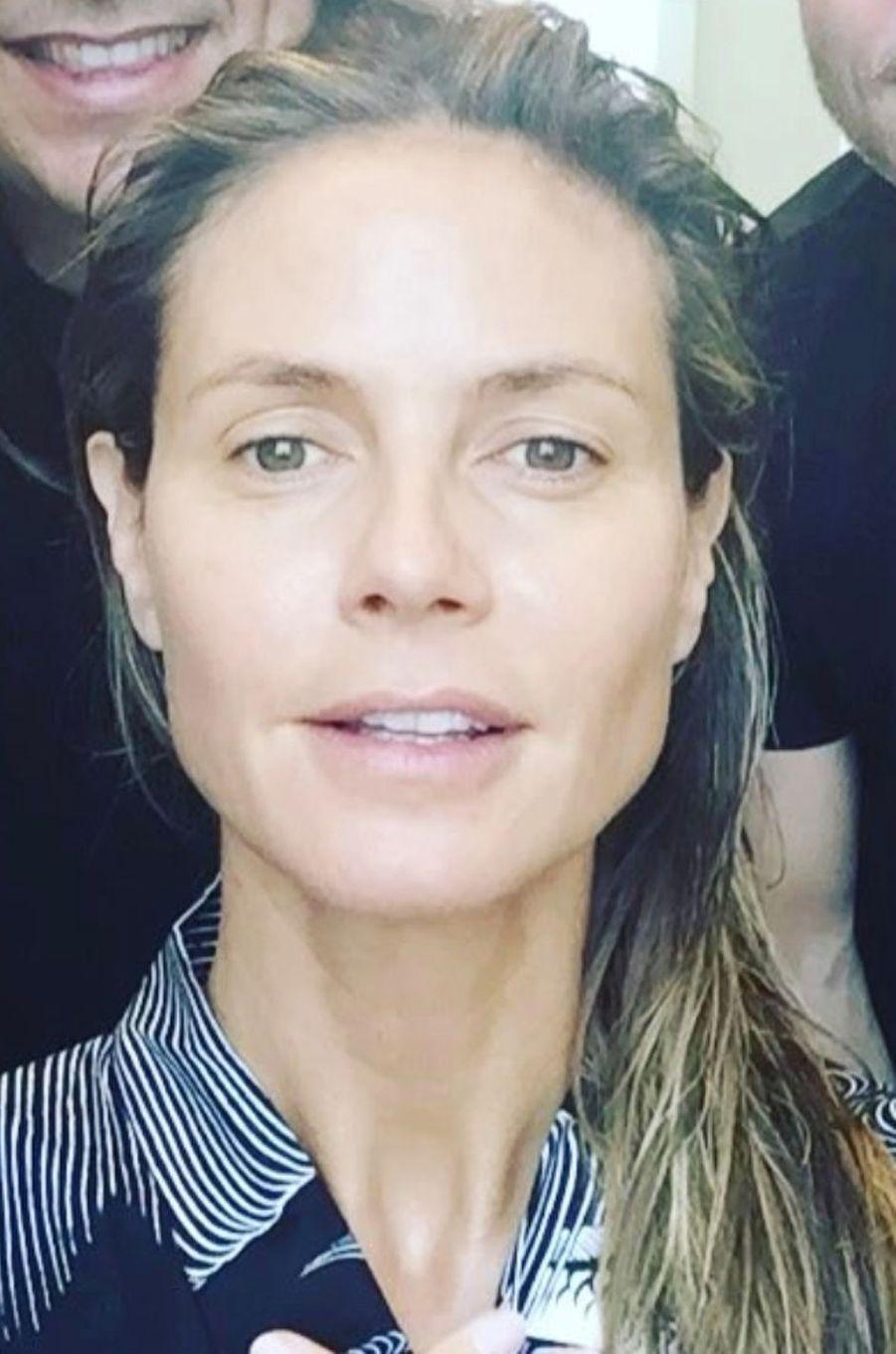 Heidi Klum.