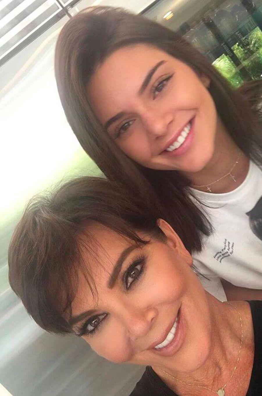 Kendall Jenner (et sa mère Kris)