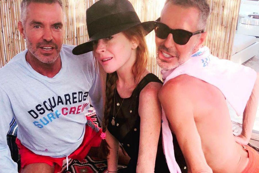 Lindsay Lohan sans maquillage