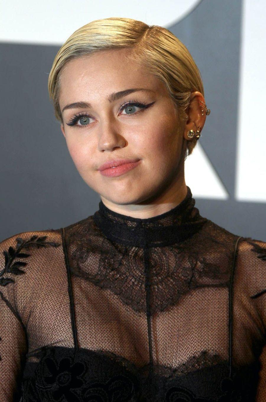 Miley Cyrus le 20 février 2015.