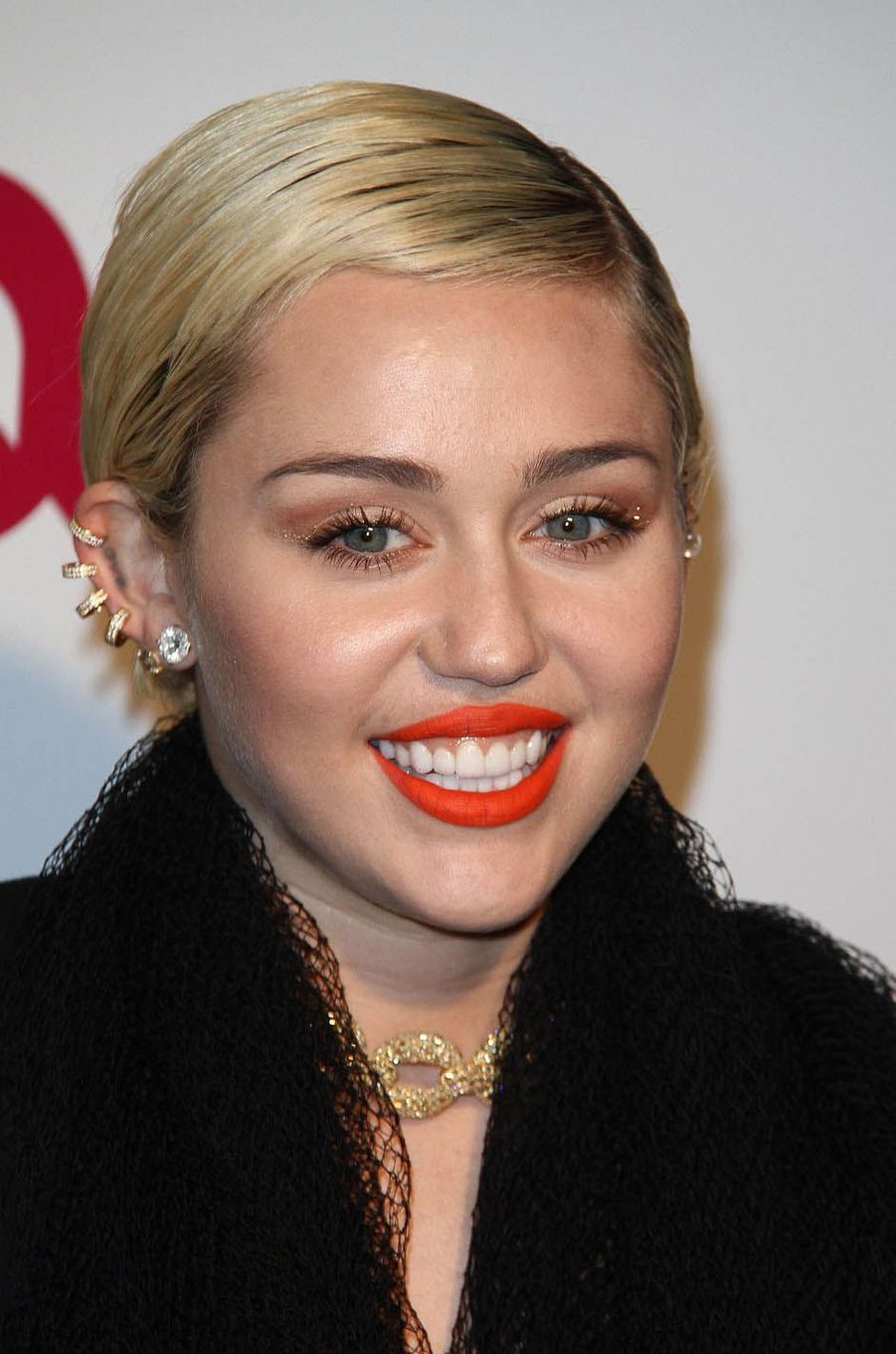 Miley Cyrus le 22 février 2015.