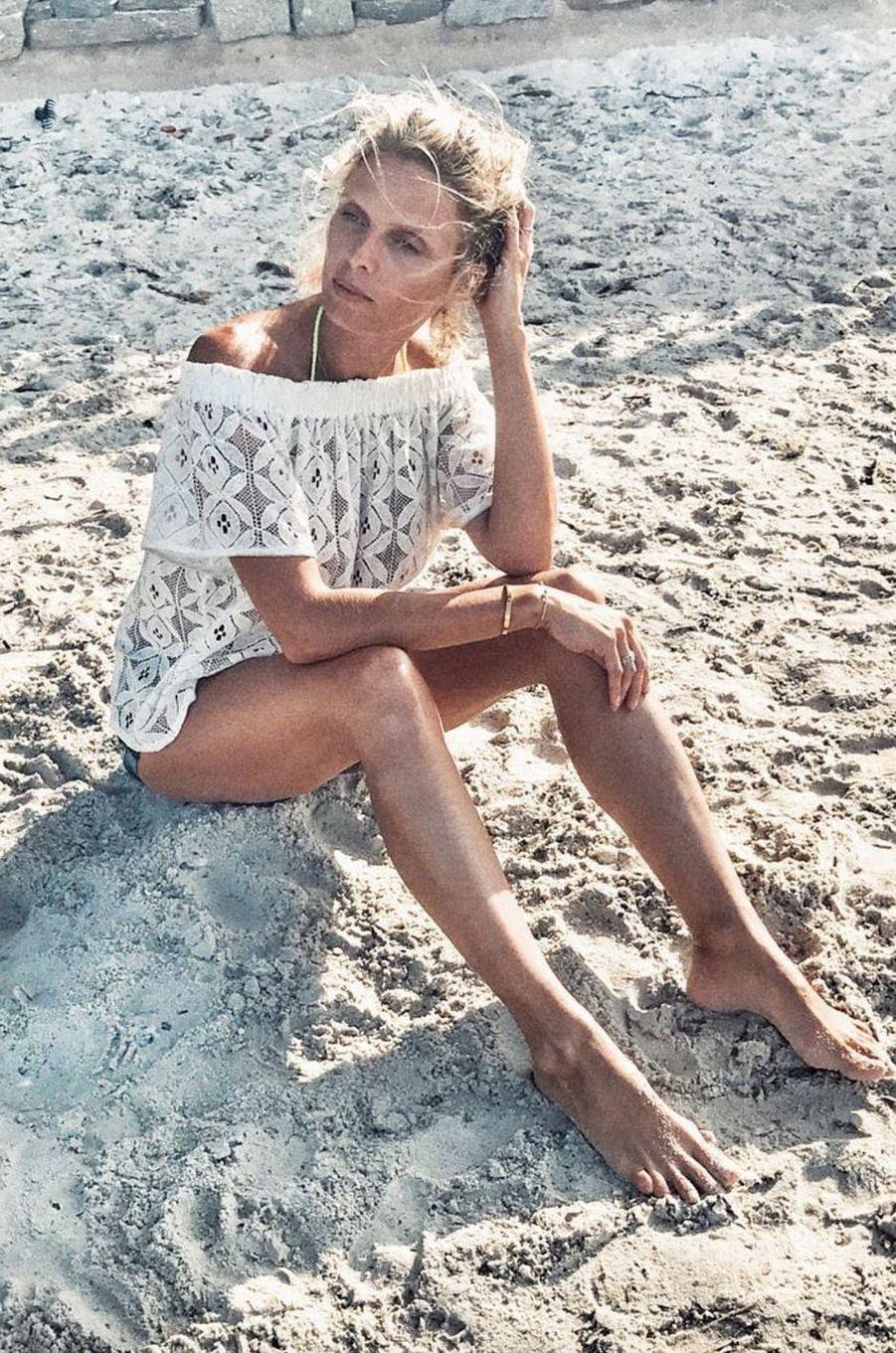 Sylvie Tellier sans maquillage