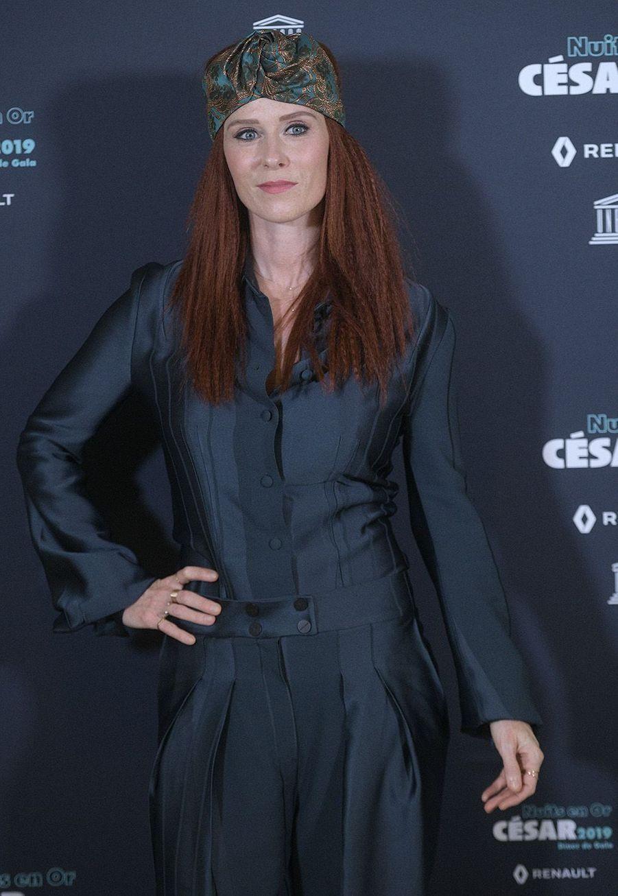 Audrey Fleurot aux Nuits en Or à l'UNESCO, le 17 juin 2019.