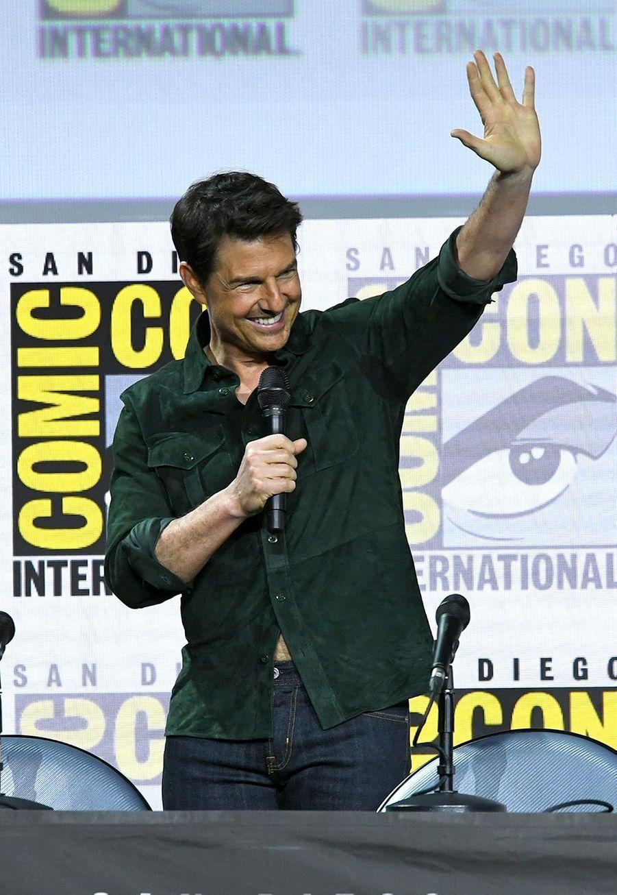 Tom Cruise au Comic-Con de San Diego le 18 juillet 2019