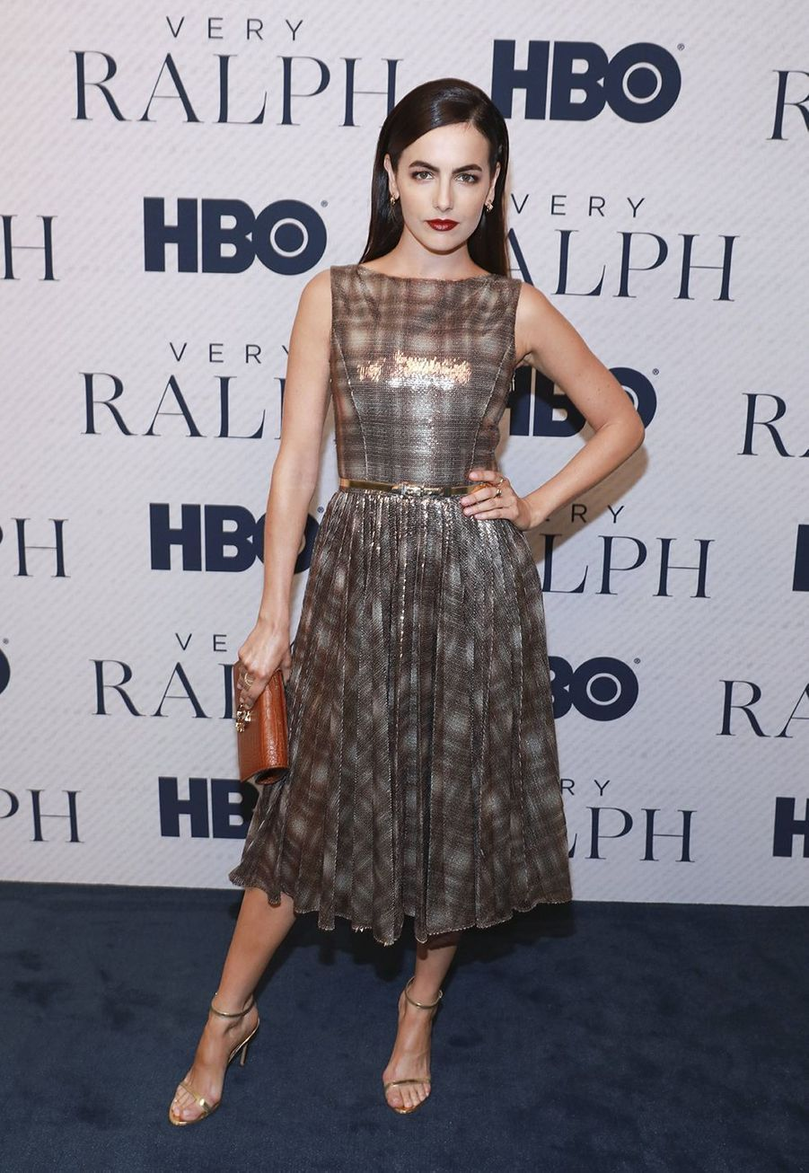"Camilla Belle à la première du documentaire HBO ""Very Ralph"" à Los Angeles le 11 novembre 2019."