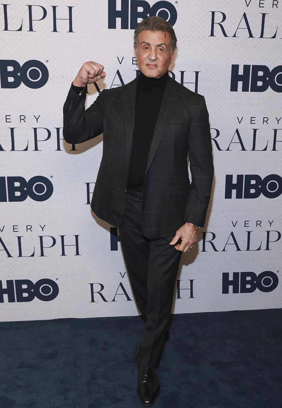 "Sylvester Stallone à la première du documentaire HBO ""Very Ralph"" à Los Angeles le 11 novembre 2019."