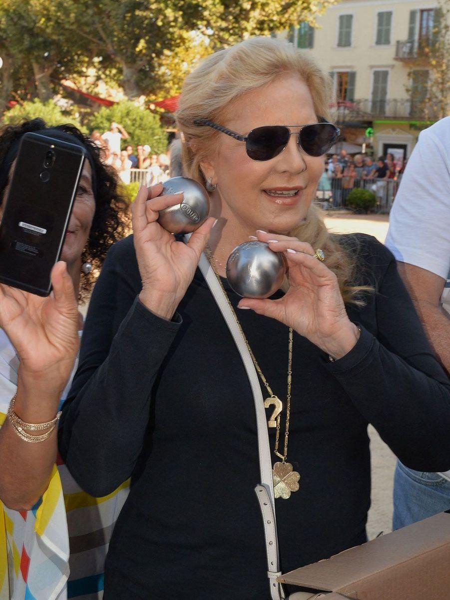 Sylvie Vartan à l'Ile-Rousse