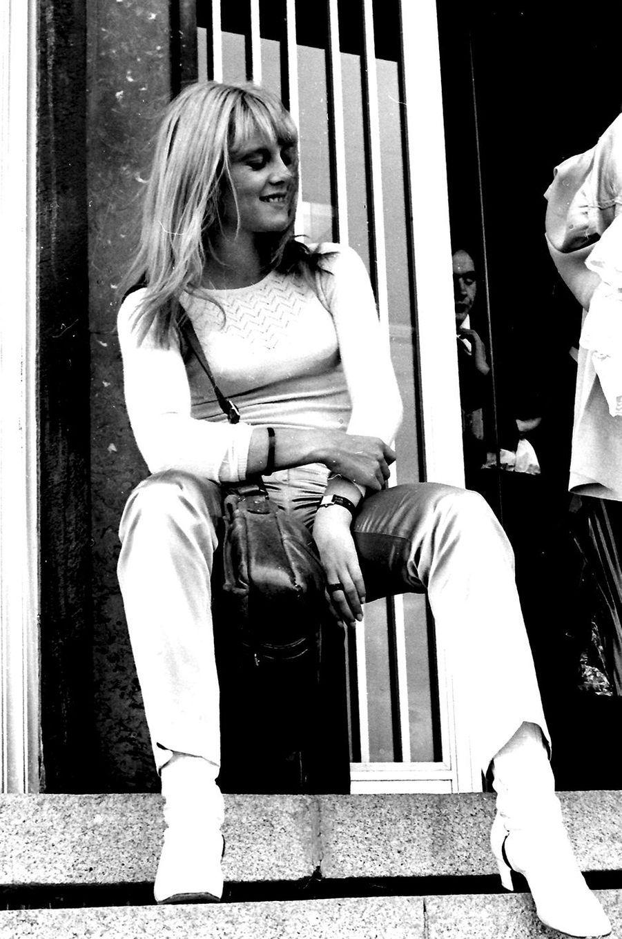 Sylvie Vartan en 1968.