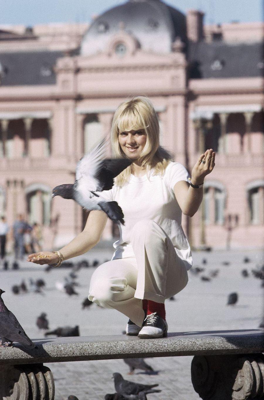 Sylvie Vartan en 1969.