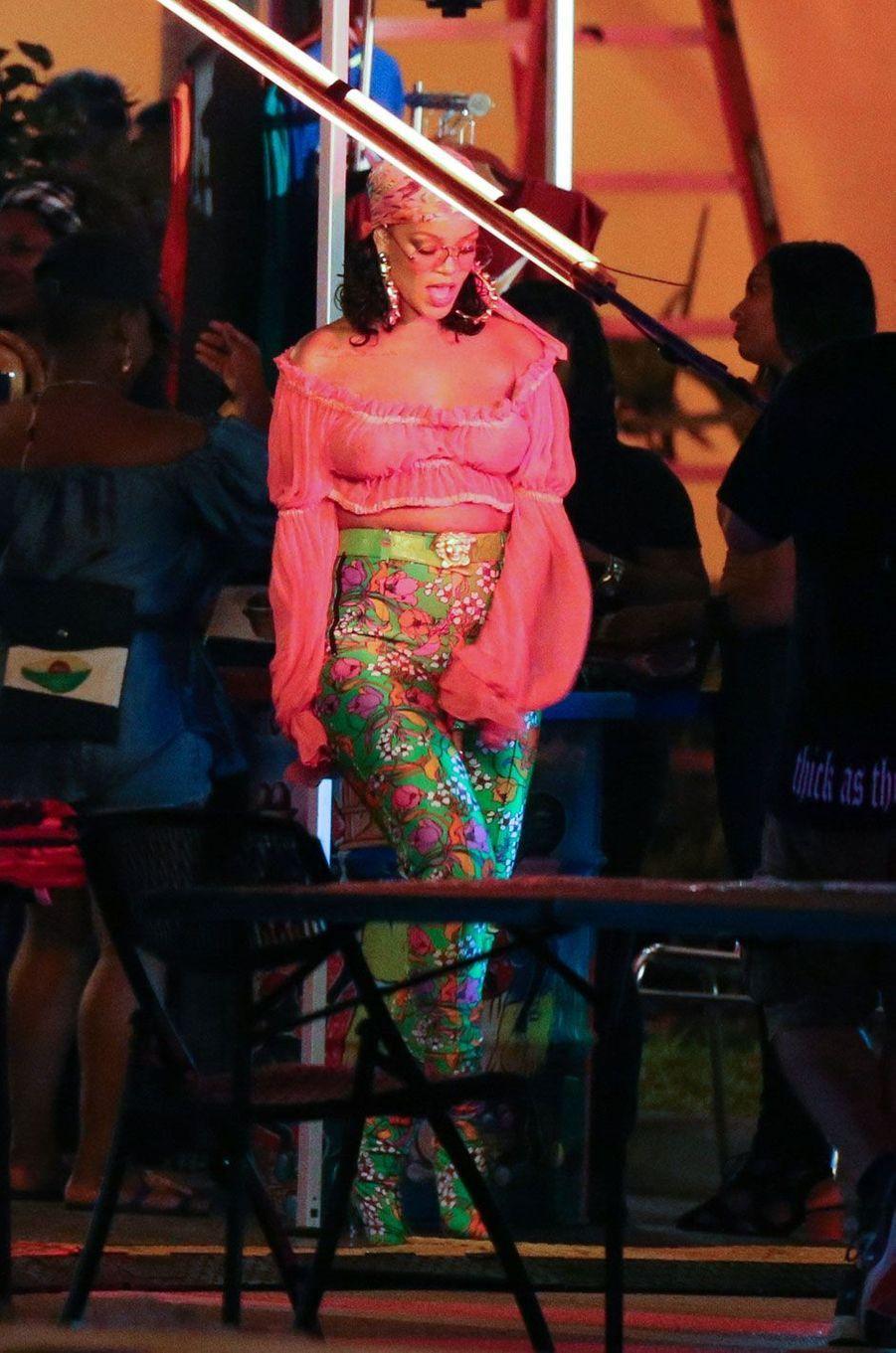 La chanteuse Rihanna