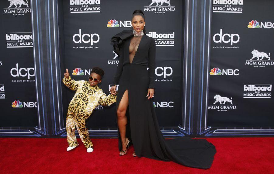 Ciara et son fils Future Zahiraux Billboard Music Awards le 1er mai 2019 à Las Vegas