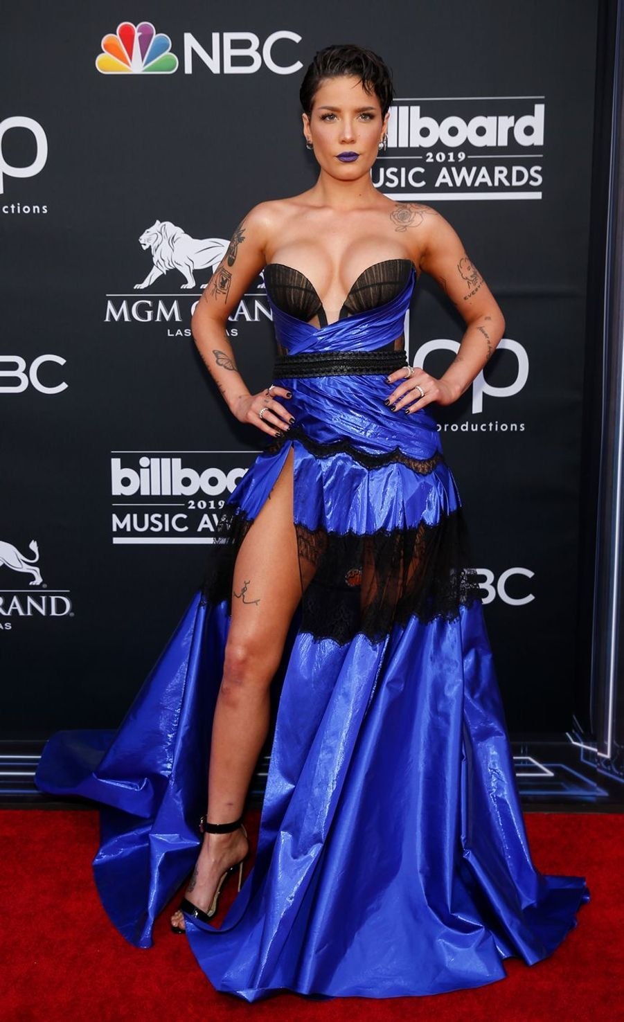 Halsey aux Billboard Music Awards le 1er mai 2019 à Las Vegas