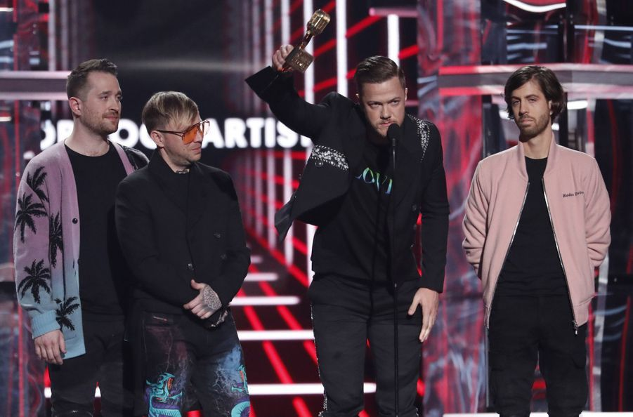 Imagine Dragons aux Billboard Music Awards le 1er mai 2019 à Las Vegas