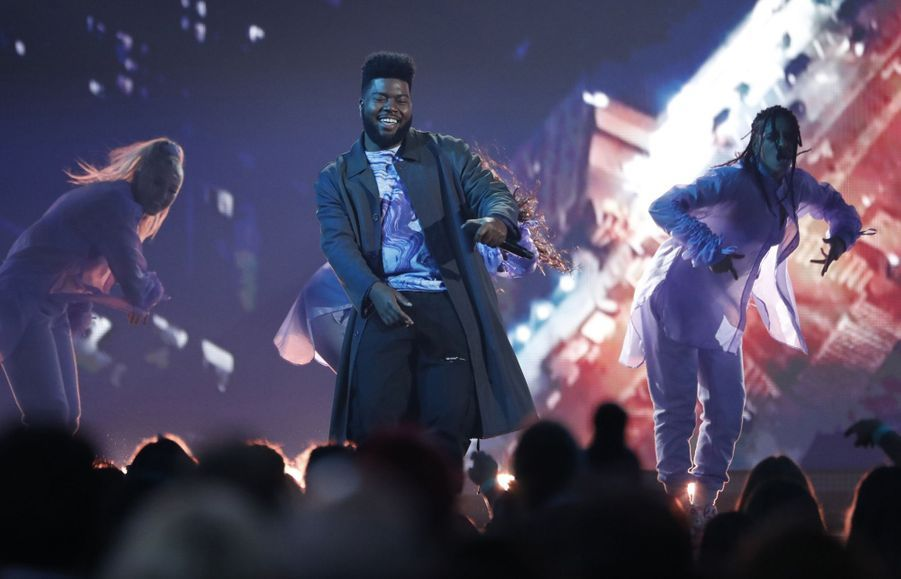 Khalid aux Billboard Music Awards le 1er mai 2019 à Las Vegas