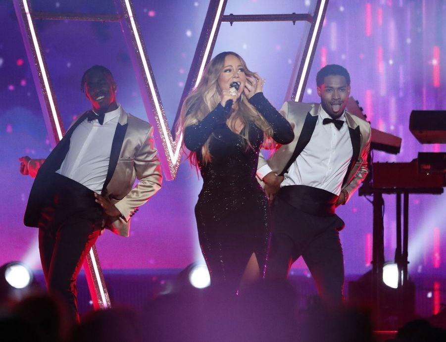 Mariah Carey aux Billboard Music Awards le 1er mai 2019 à Las Vegas