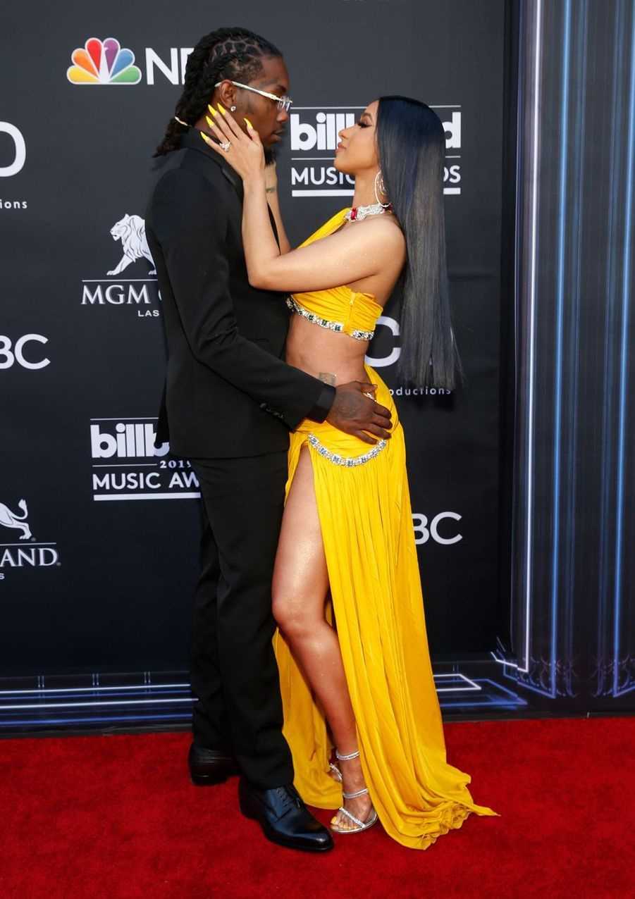 Offset et Cardi B aux Billboard Music Awards le 1er mai 2019 à Las Vegas
