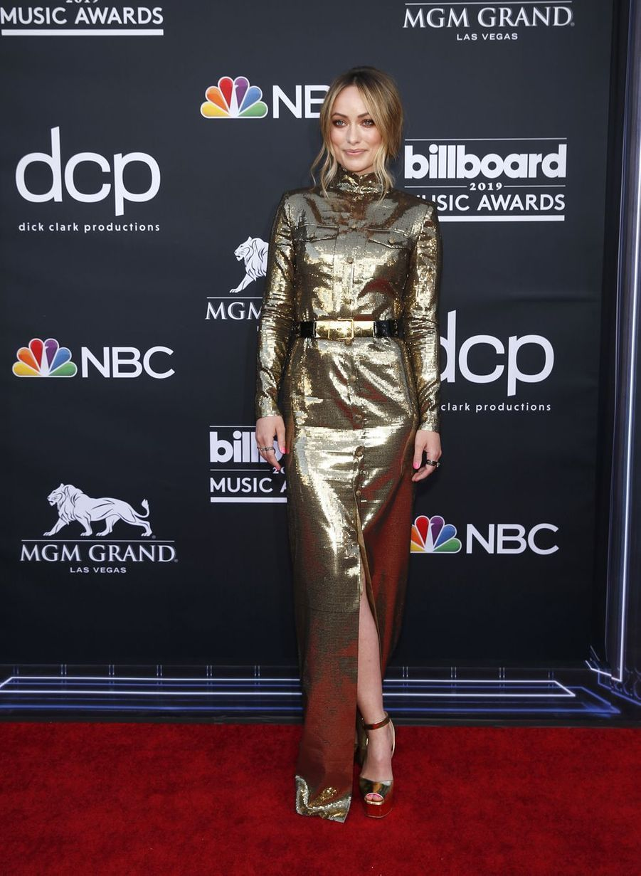 Olivia Wilde aux Billboard Music Awards le 1er mai 2019 à Las Vegas
