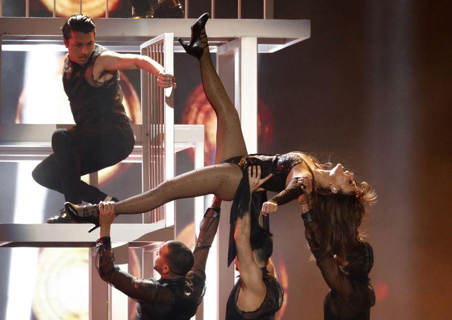 Paula Abdulaux Billboard Music Awards le 1er mai 2019 à Las Vegas