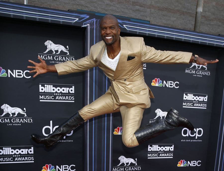 Terry Crews aux Billboard Music Awards le 1er mai 2019 à Las Vegas