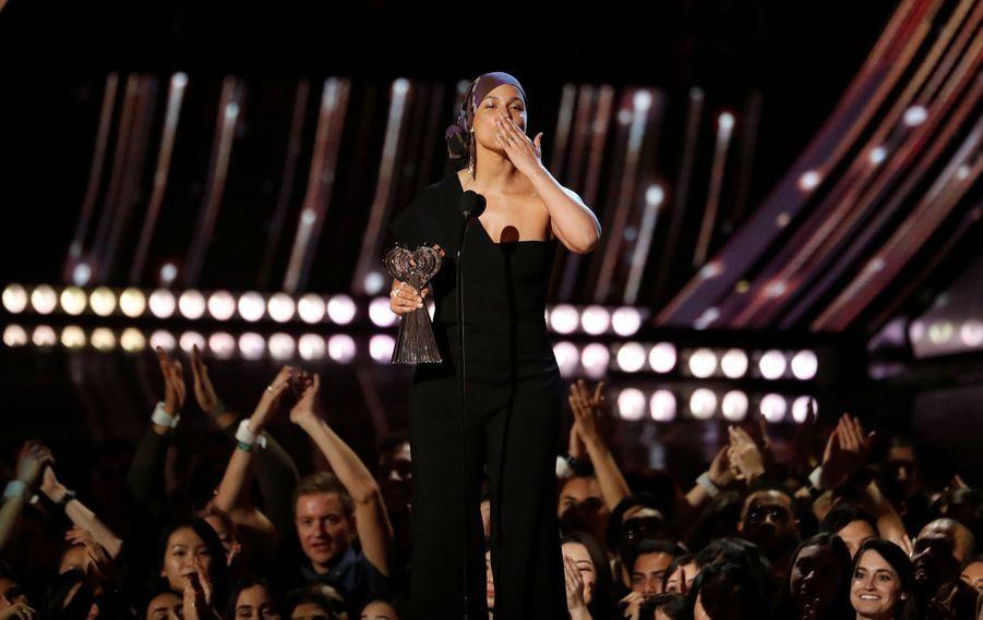 Alicia Keyslors desiHeartRadio Music Awards, le jeudi 14 mars 2019