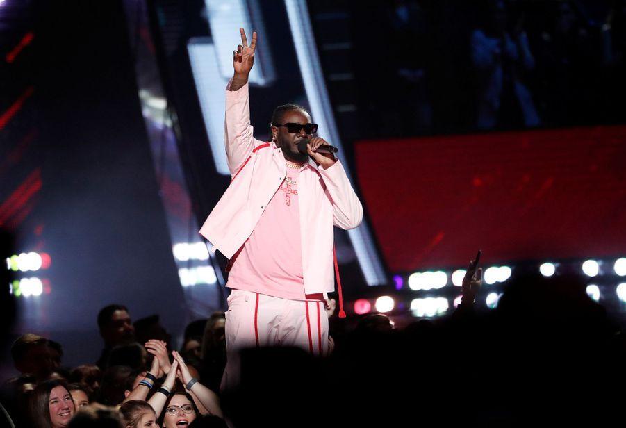 T-Painlors desiHeartRadio Music Awards, le jeudi 14 mars 2019