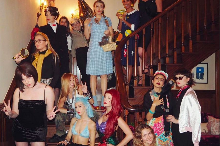 Taylor Swift, Gigi Hadid, Blake Lively avec des amis