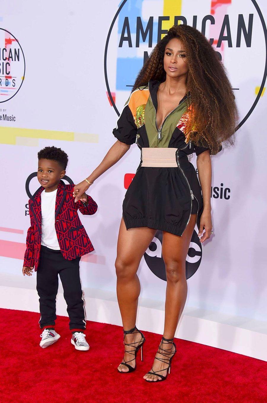 Ciara et son fils
