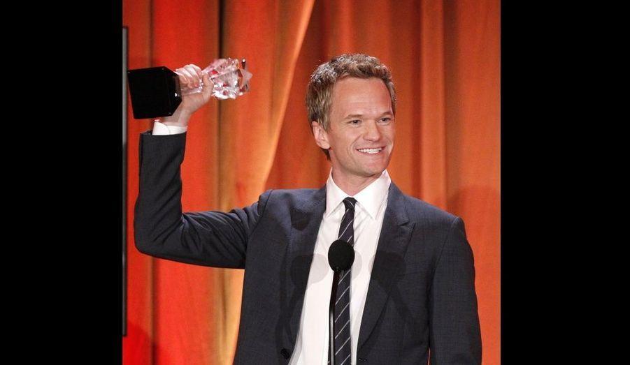 Le comédien a été sacré Meilleur acteur dans un second rôle pour une comédie.
