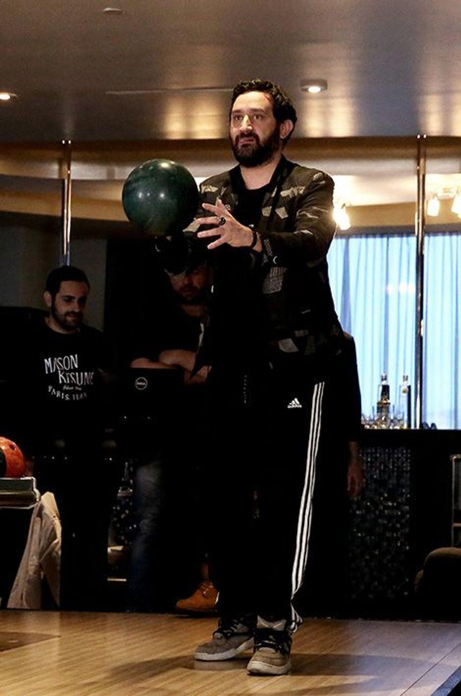 Séance de bowling entre amis