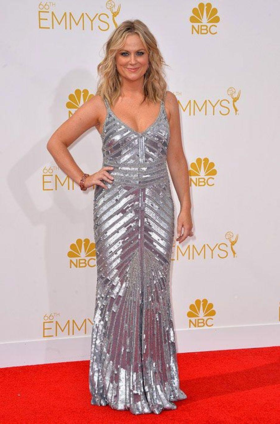 Amy Poehler aux Emmy Awards 2014