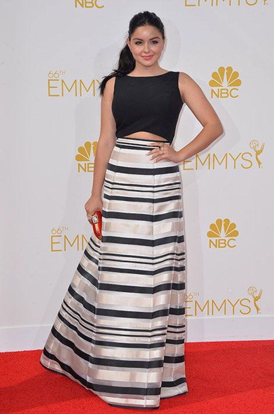Ariel Winter aux Emmy Awards 2014