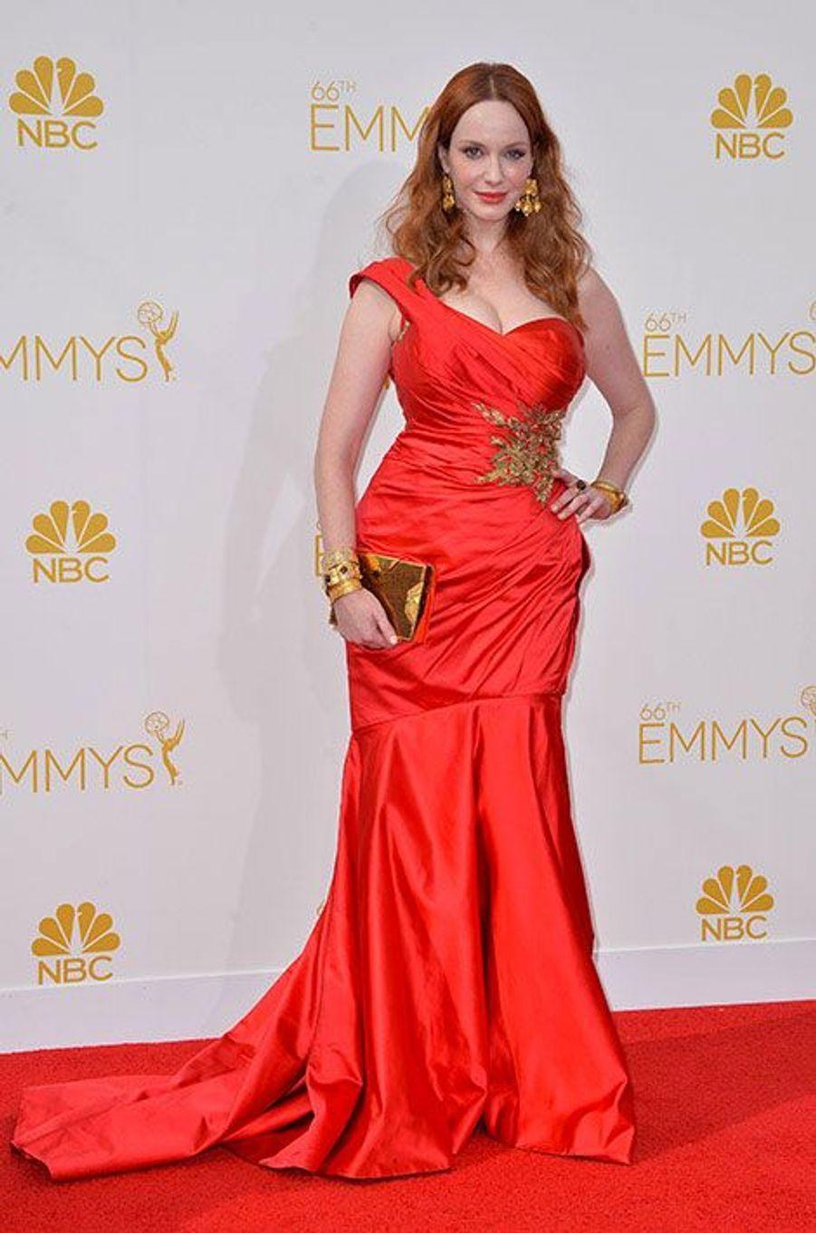 Christina Hendricks aux Emmy Awards 2014