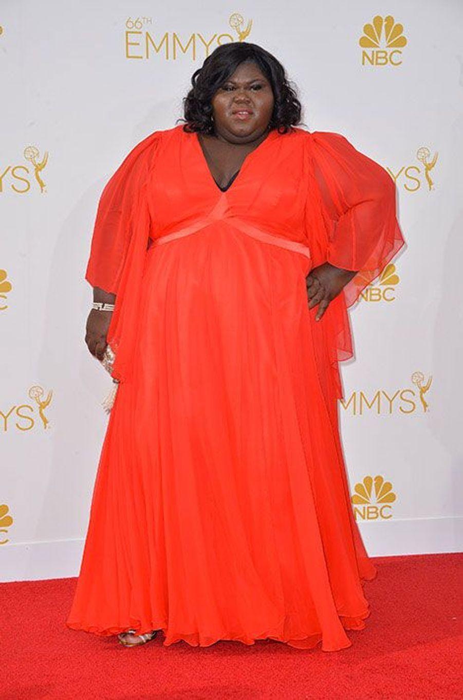 Gabourey Sidibe aux Emmy Awards 2014