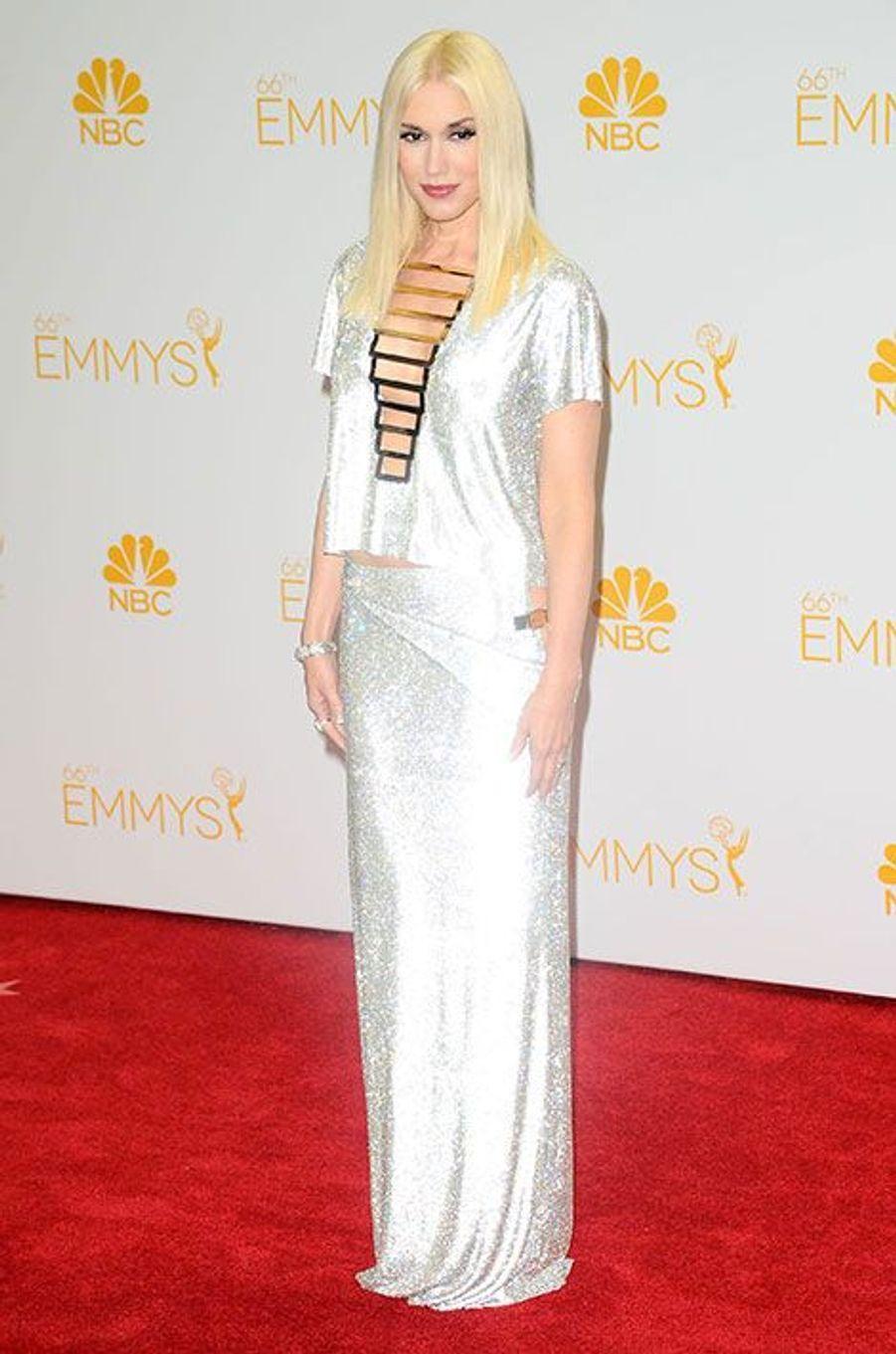 Gwen Stefani aux Emmy Awards 2014
