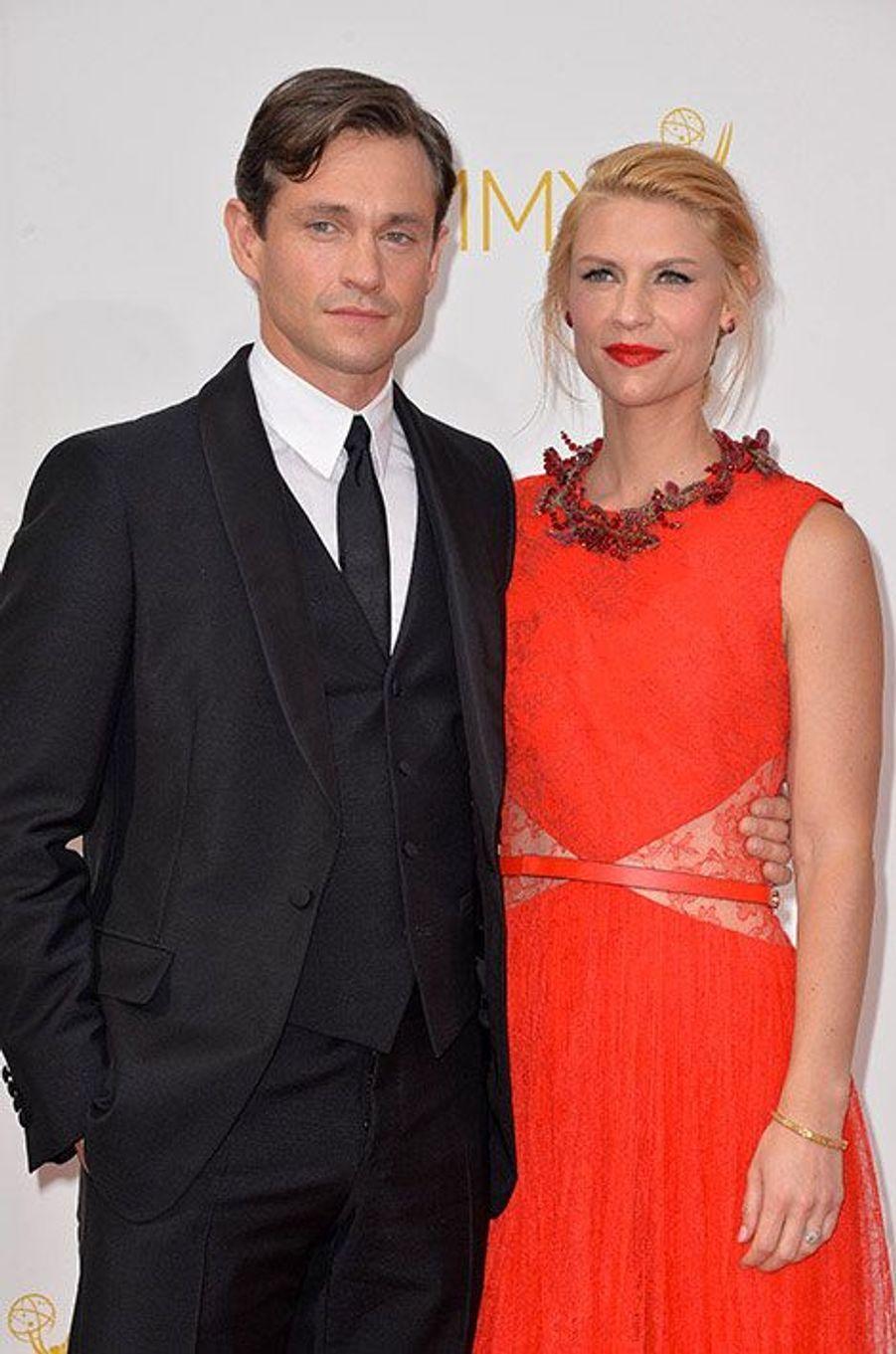 Hugh Dancy et Claire Danes aux Emmy Awards 2014