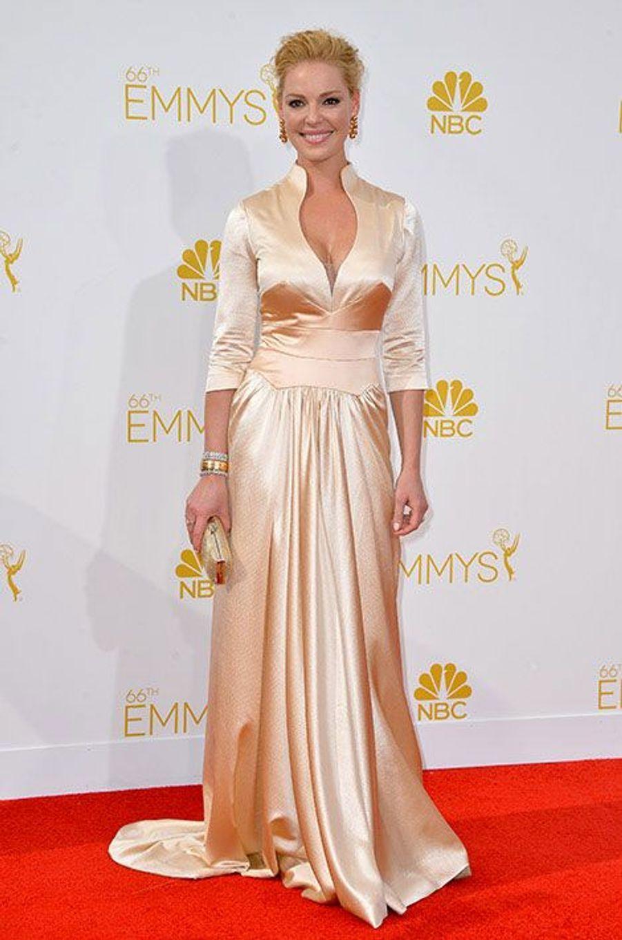 Katherine Heigl aux Emmy Awards 2014