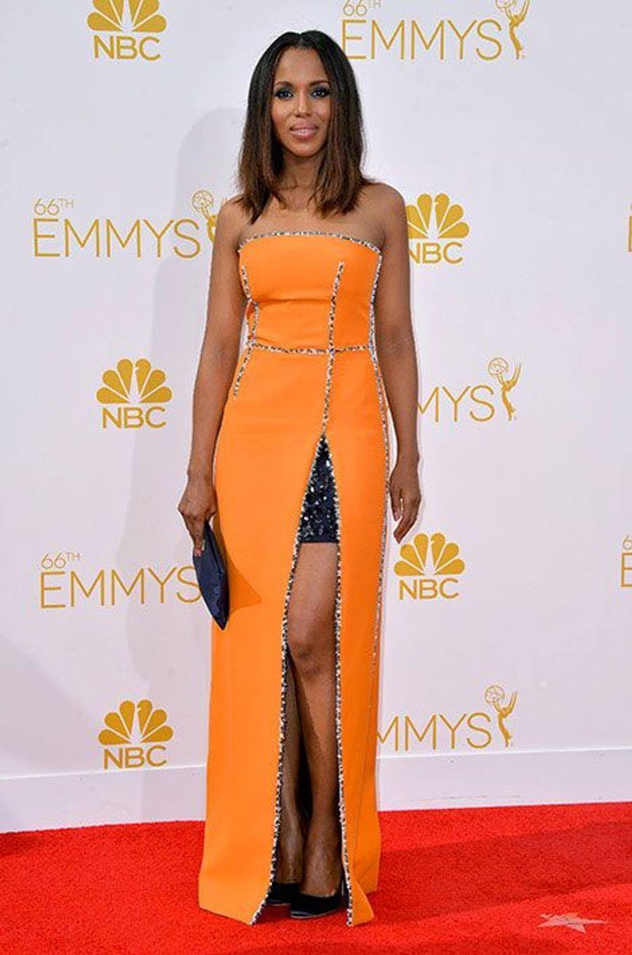 Kerry Washington aux Emmy Awards 2014