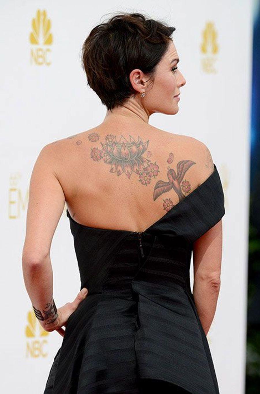 Lena Headey aux Emmy Awards 2014