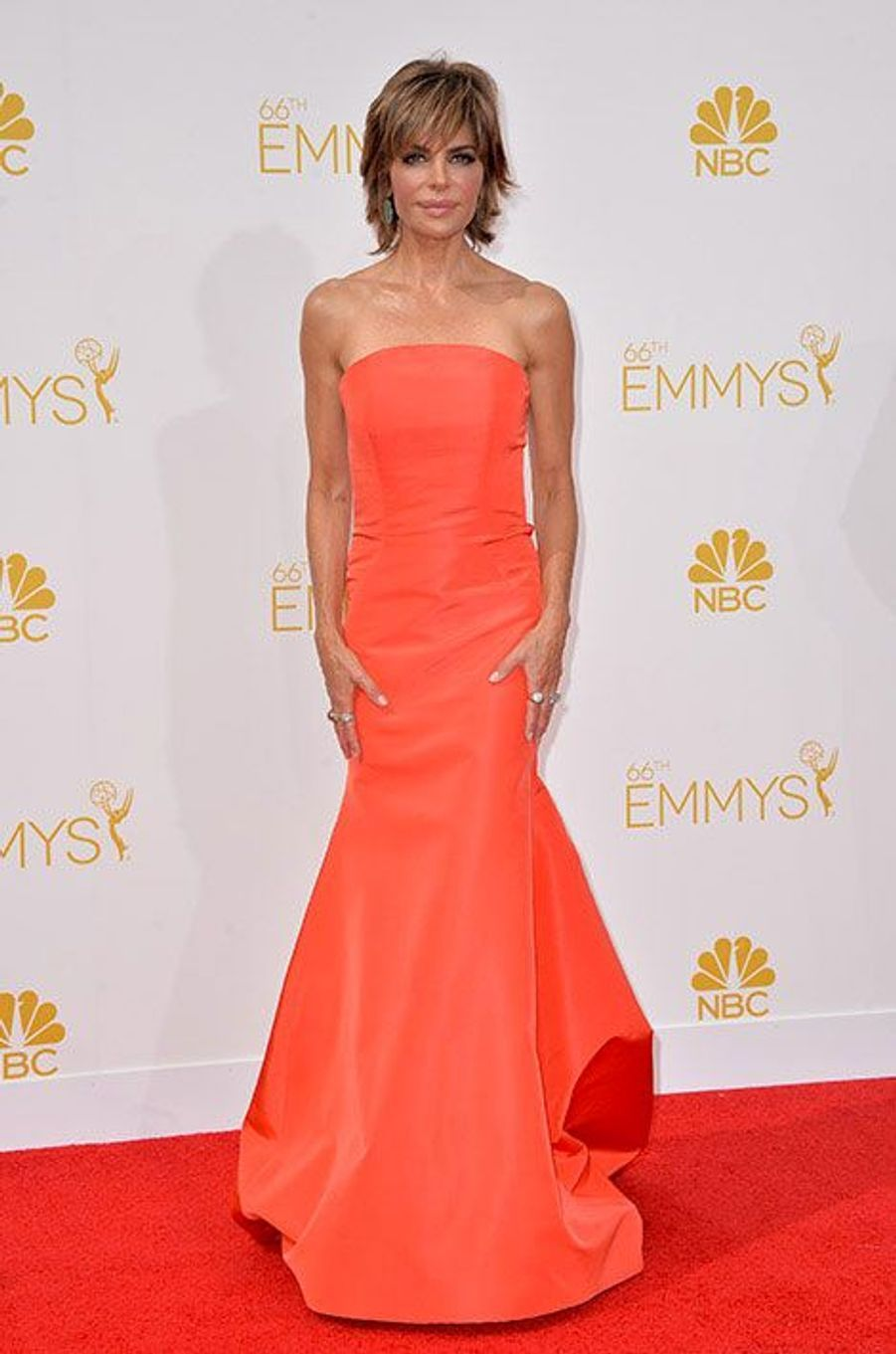 Lisa Rinna aux Emmy Awards 2014