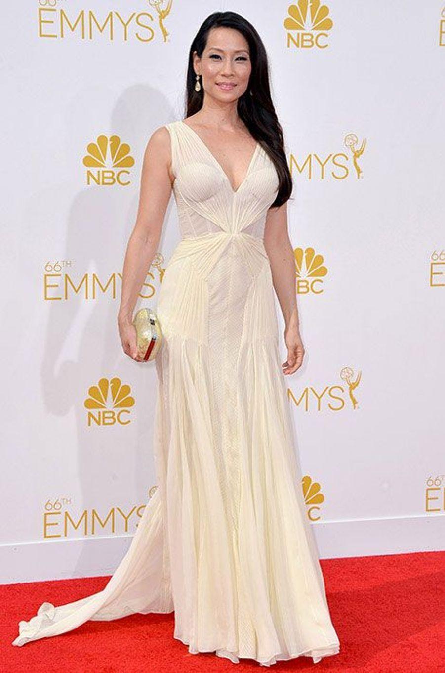 Lucy Liu aux Emmy Awards 2014