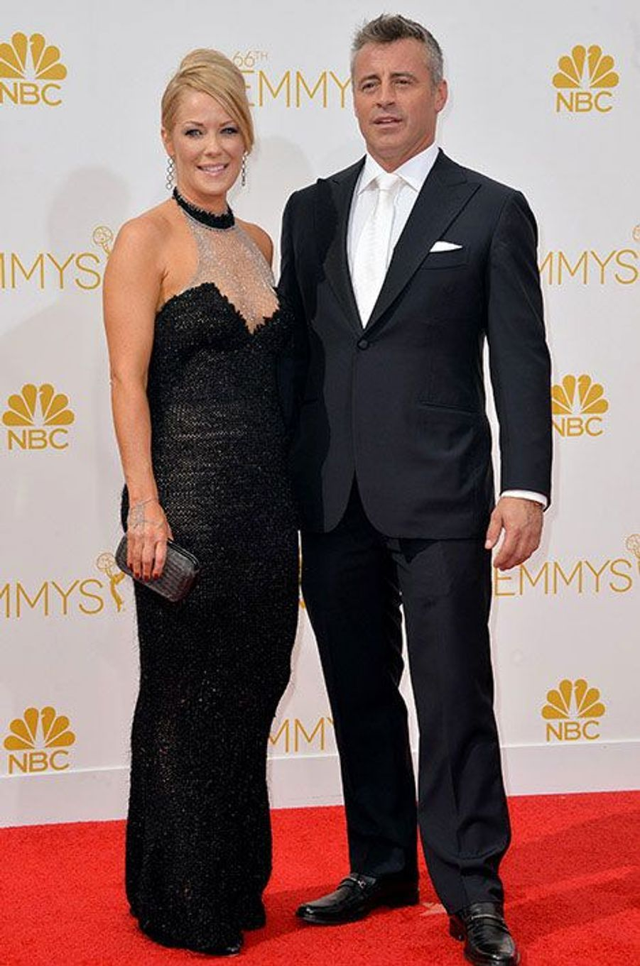Matt LeBlanc aux Emmy Awards 2014