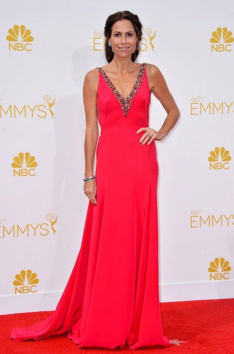 Minnie Driver aux Emmy Awards 2014