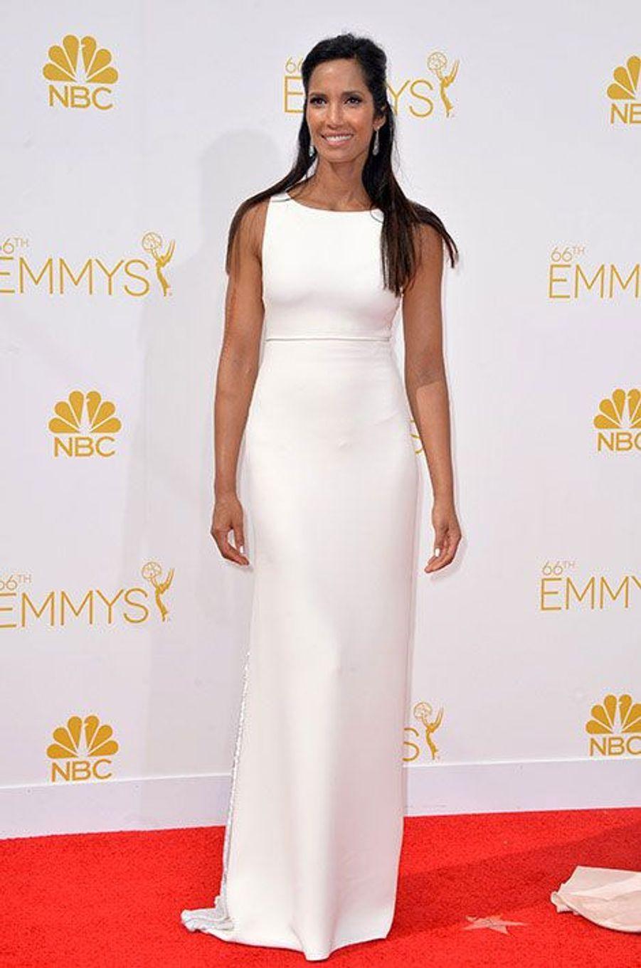 Padma Lakshmi aux Emmy Awards 2014