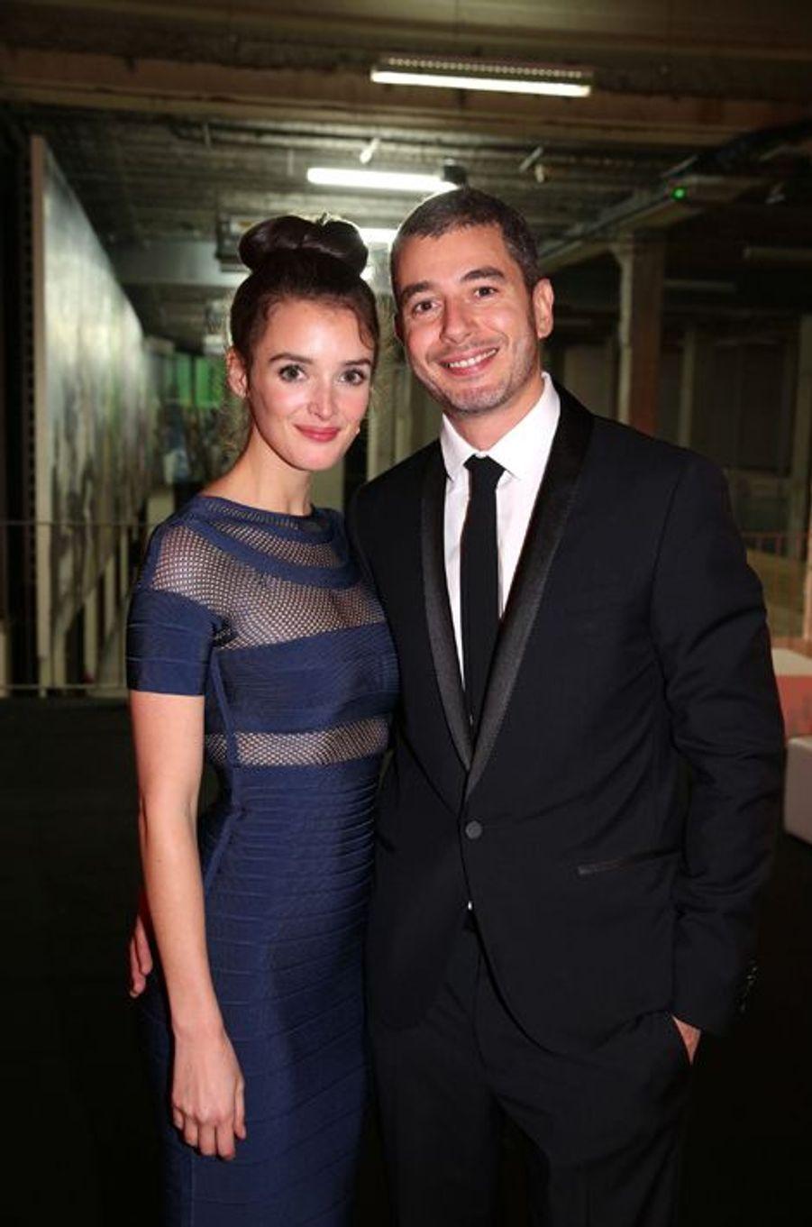 Charlotte Le Bon et Ali Baddou aux 30 ans de Canal+