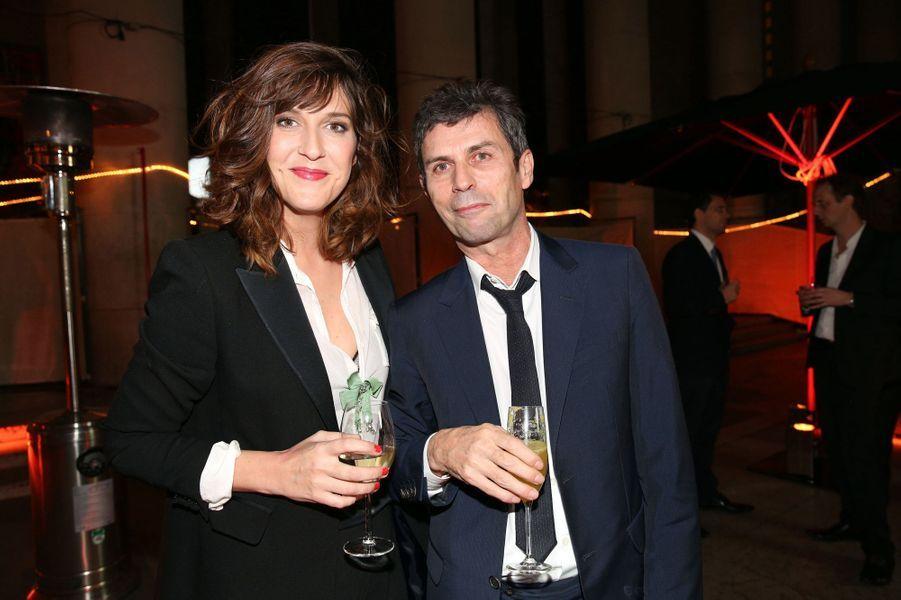 Daphné Burki et Frédéric Taddéi aux 30 ans de Canal+