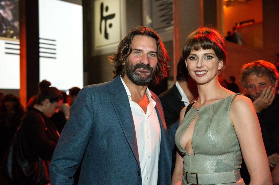 Frédéric Beigbeder et Frédérique Bel aux 30 ans de Canal+