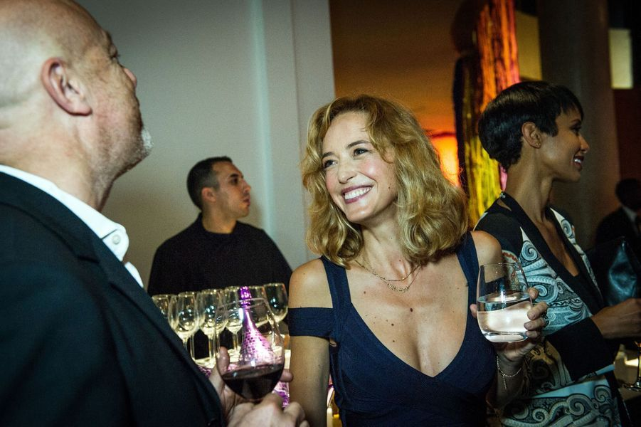 Hélène de Fougerolles aux 30 ans de Canal+