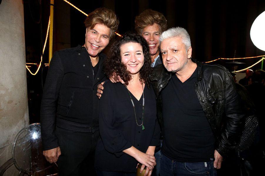 Igor et Grichka Bogdanoff aux 30 ans de Canal+