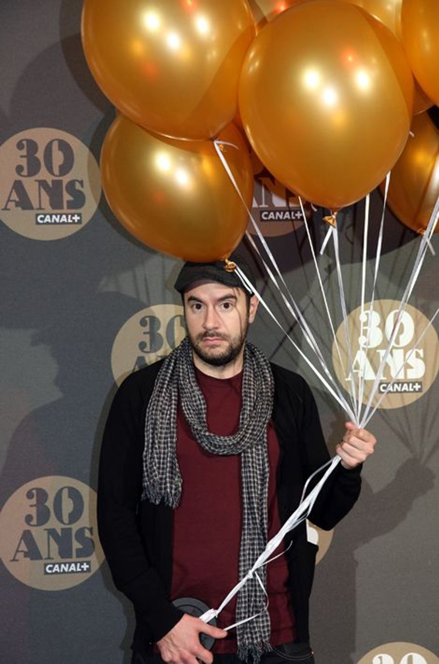 Kyan Khojandi aux 30 ans de Canal+